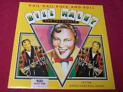 "Bill Haley And The Comets:   Hail Hail Rock And Roll  1979 12""   EX+"
