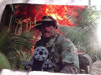 Predator Hand Signed Jesse The Body Ventura 12 X 8 Photo Blaine Action Film Coa