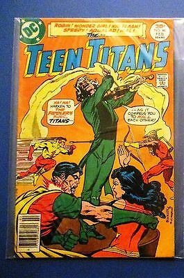 TEEN TITANS 46 (Original Team 1st Series, Robin Wonder Girl, Fiddler) 1977