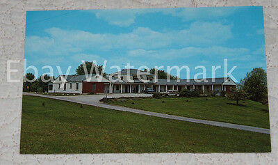 HAVERSTRAW NEW YORK NY Rockland Motel Vintage Chrome Postcard