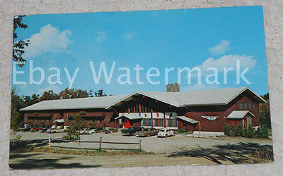 STRATTON MOUNTAIN VERMONT VT Inn Motel Restaurant Vintage Chrome Postcard