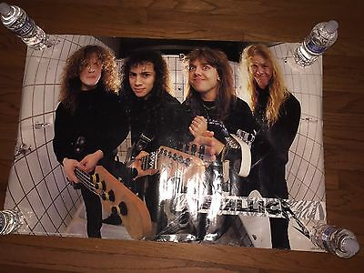 METALLICA THE $5.98 EP / GARAGE DAYS RE-REVISITED Vintage Poster 1987
