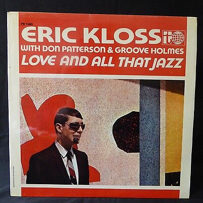 ERIC KLOSS Love And All That Jazz TRANSATLANTIC UK Press LP LAMINATED