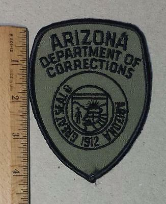 Vintage Arizona Department of Corrections Subdued Iron/Sew on Patch