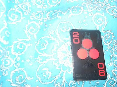 Rare Collectors Red 3 Leaf Clover Scotty Cameron Sticker A Nice Fathers Day Gift