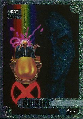 Marvel Masterpieces 2016 Holofoil Chase Card 14 OF 17 Professor X