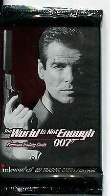 James Bond The World Is Not Enough Factory Sealed Hobby Packet / Pack