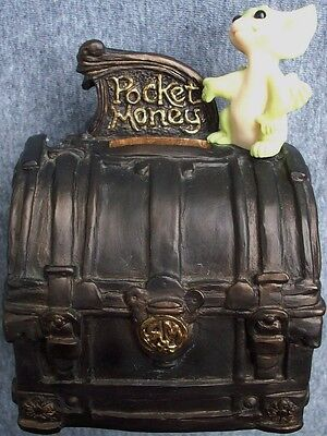 POCKET DRAGON Pocket Money 1999 Retired COLLECTIBLE WORLD STUDIOS Real Musgrave