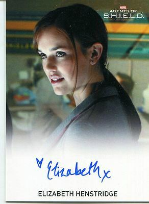 Agents Of Shield Season 1 FB Autograph Card Elizabeth Henstridge as J. Simmons