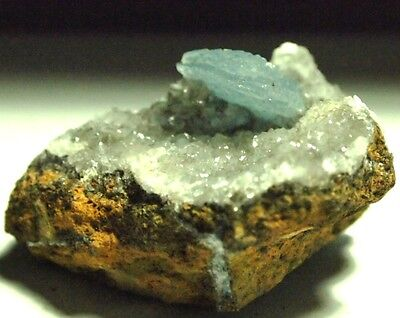Barite Blue rough crystal specimen,56x42x30mm,311.84ct,.2.20oz,BA-A05,natural
