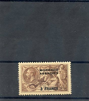 GREAT BRITAIN OFF IN MOROCCO Sc 410(SG 200)**VF NH B-W PRINTING $40