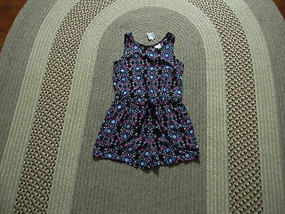 Nwt Justice Girls Floral Romper 8