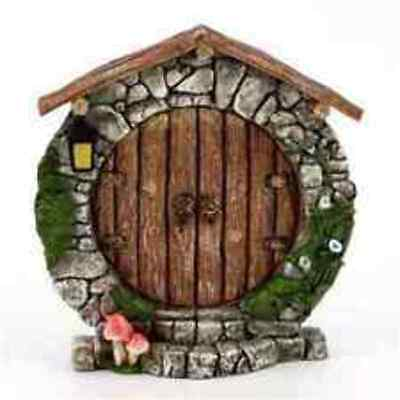 Charming Round Fairy Door - Top Collection Enchanted Story Fairy Garden
