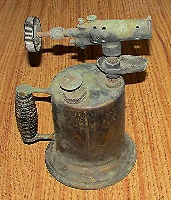 ANTIQUE EARLY 1900's OTTO BENTZ CO. ROCHESTER, NY. BRASS GAS KEROSENE BLOW TOUCH
