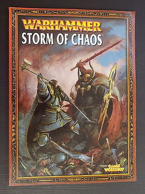 Warhammer STORM OF CHAOS CAMPAIGN BOOK from 2004 Games Workshop Citadel 14578