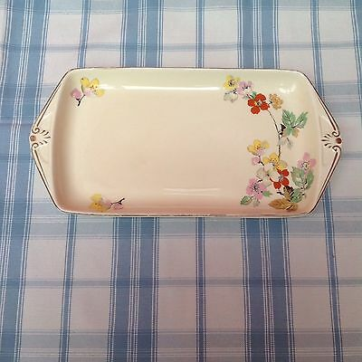 Vintage RIDGWAY 1950s Nibbles/ Sandwich Tray For Alfresco Dining