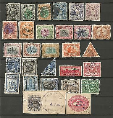 Guatemala Selection of Early Stamps