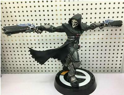 """10""""Overwatch Reaper PVC Complete Figure Statue Shooting 3D Model Collection NEW"""