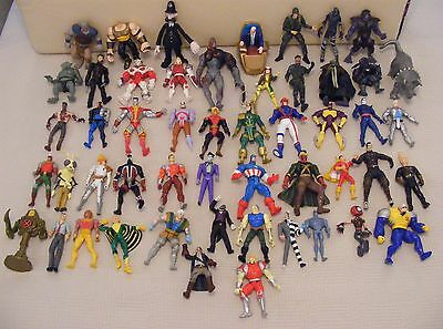 Group Lot Of 51 Action Figures