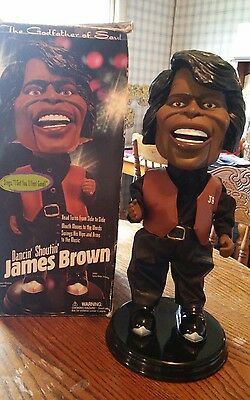 James Brown Dancin Shoutin Doll Godfather of Soul Gemmy Industries