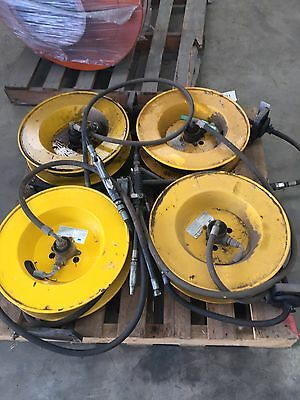 Siebe Fluid Systems Tec 7000 Hose Reel With Hose Suit Grease Or Hydraulic Oil