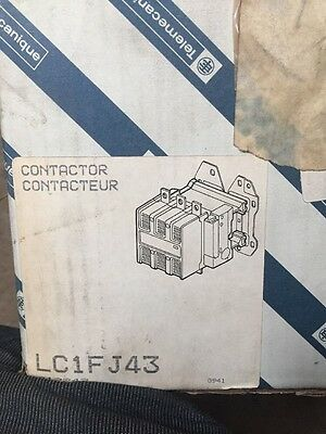 Telemecanique Magnetic Contactor Lc1Fj43 New In Box #z 1B5