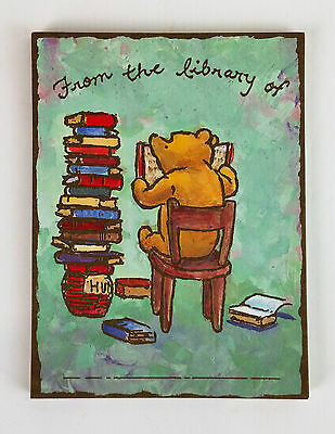 15 Bookplates~Michel and Co~Disney~Winnie the Pooh~A.A. Milne