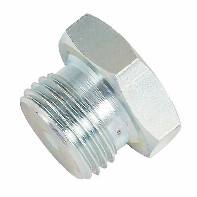 "Automotive Plumbing Solutions Steel Blanking Plug - 1/2"" BSP Male Thread"