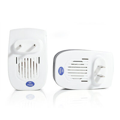 Ultrasonic Pest Reject Magnetic Repeller Anti Mosquito Insect Killer Electronic