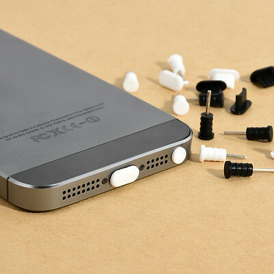 For Apple iPhone 5 5c 6 6s 7 7s Plus Anti Dust Cap Earphone Plug Stopper 10 Set