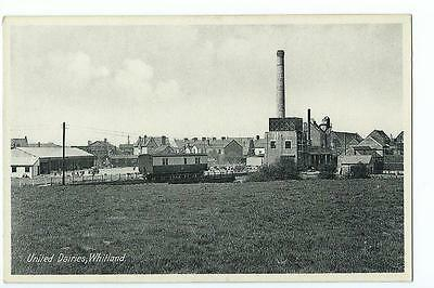 Carmarthenshire printed view by Rapco of United Dairies, Whitland  @1910??
