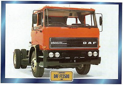 DAF  FT2500                   Glossy   Picture (T672)