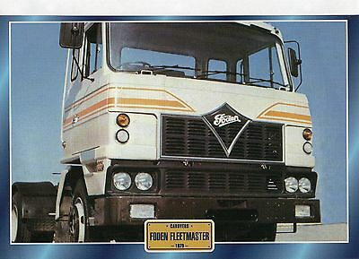 FODEN  FLEETMASTER                     Glossy   Picture (T689)