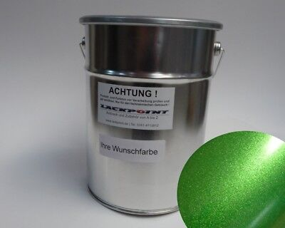 0,5L Basecoat Spray Finish Candy Green Car Paint Tuning VW Opel BMW Lackpoint