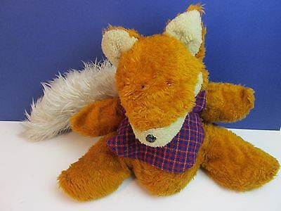 "17"" LARGE vintage rare BASIL BRUSH HAND PUPPET big old soft toy BOOM BOOM"