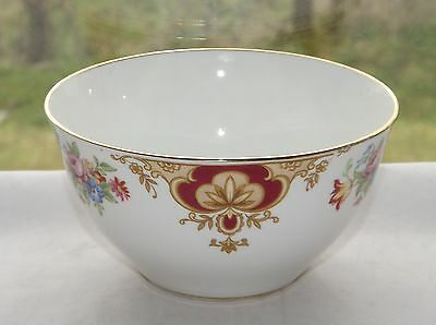 Vintage Windsor Bone China Sugar Bowl Floral c1950s
