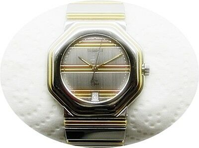 Wempe 5th Avenue Stahl / Gold tricolor  34 mm Unisex Uhr in Box Uhr Damen Herren