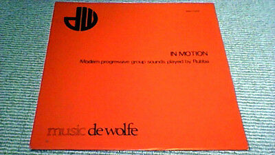 Jacky Giordano In Motion De Wolfe Library Lp 1980 Space Drama Synth Funk Listen