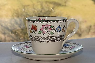 Copeland Spode Chinese Rose Pattern c1950s Coffee Cup & Saucer Rd 629599
