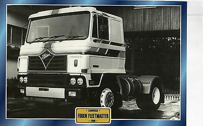 FODEN  FLEETMASTER                     Glossy   Picture (T692)