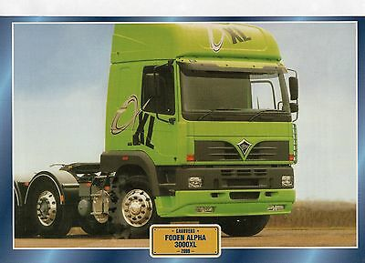 FODEN  ALPHA 3000XL               Glossy   Picture (T693)