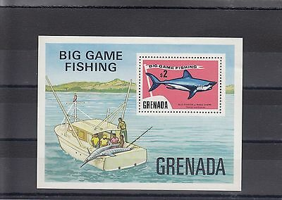 Timbre Stamp  Bloc Grenade Y&t#36  Poisson Fish Peche Neuf**/mnh-Mint 1975 ~A05