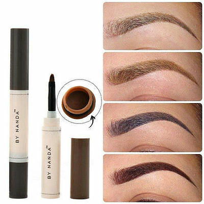 Fashion Eye Brow Dye Cream Pencil Long Lasting Waterproof Eyebrow Set Makeup