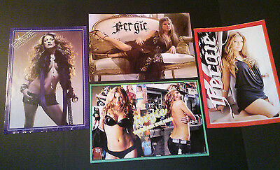 Lot of 4 Posters~ FERGIE of Black Eyed Peas ~1990s ~Stacy Ferguson