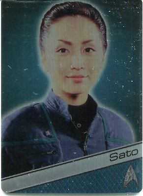 Star Trek 50th Anniversary [2017] Metal Chase Card #49 Ensign Sato