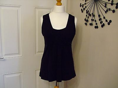 H&m Mama Nursing Tunic Top Black Large