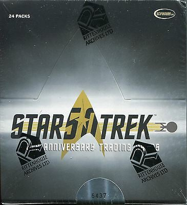 Star Trek 50th Anniversary [2017] Factory Sealed Hobby Box
