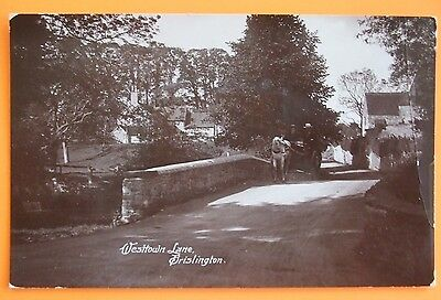 RP Postcard POSTED 1914 WEST TOWN LANE BRISLINGTON BRISTOL