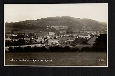 Builth Wells - General View - real photographic p/card