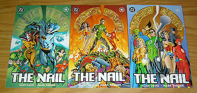 JLA: the Nail #1-3 VF/NM complete series - alan davis  justice league of america